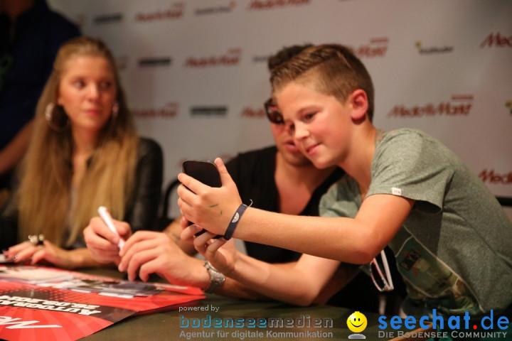 Kay One - Autogrammstunde: Ravensburg am Bodensee, 26.09.2014
