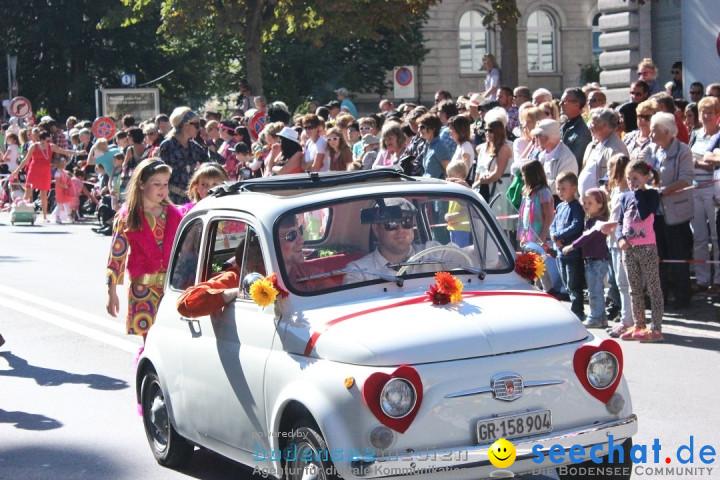 Churer Schlagerparade - Schweiz: Chur, 27.09.2014