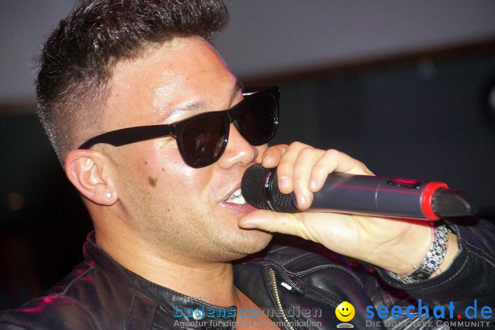 Prince KAY ONE live im Top10: Singen am Bodensee, 28.11.2014