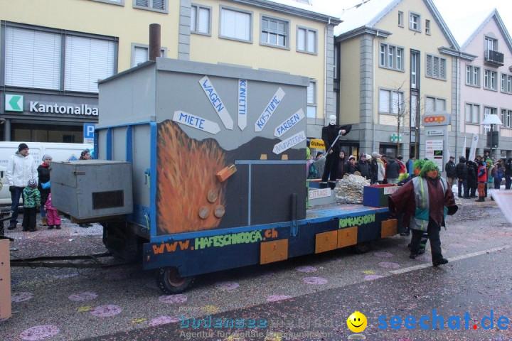 Faschingsumzug mit Motto: Weisch no - Gossau SG, Schweiz, 25.01.2015