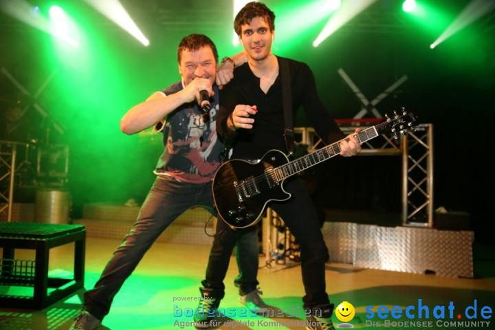 STIERBALL 2015 mit Party-Band HEAVEN: Wahlwies am Bodensee, 13.02.2015