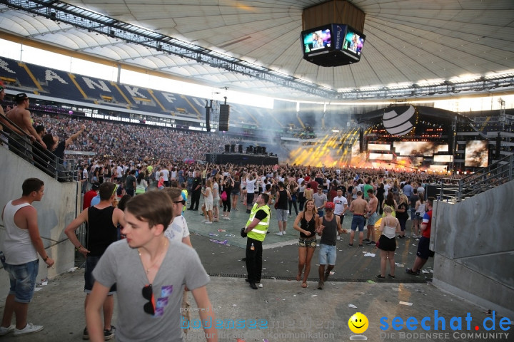 WORLD CLUB DOME - BigCityBeats mit DAVID GUETTA: Frankfurt, 7.6.2015