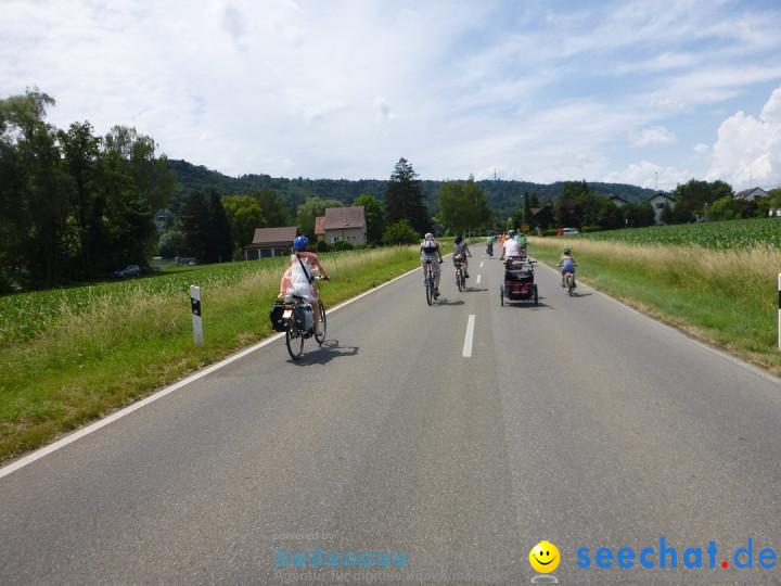 SlowUp Hegau-Schaffhausen, TEAM seechat.de Bodensee-Community, 14.06.15