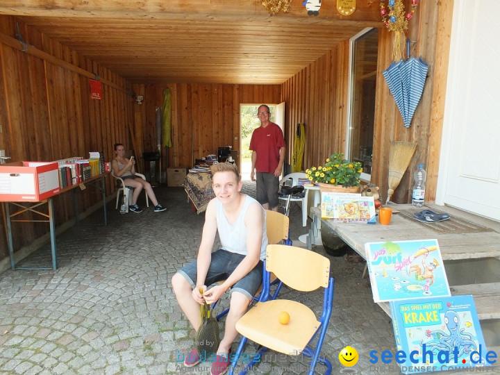Garagen-Flohmarkt in Kanzach: 04.07.2015