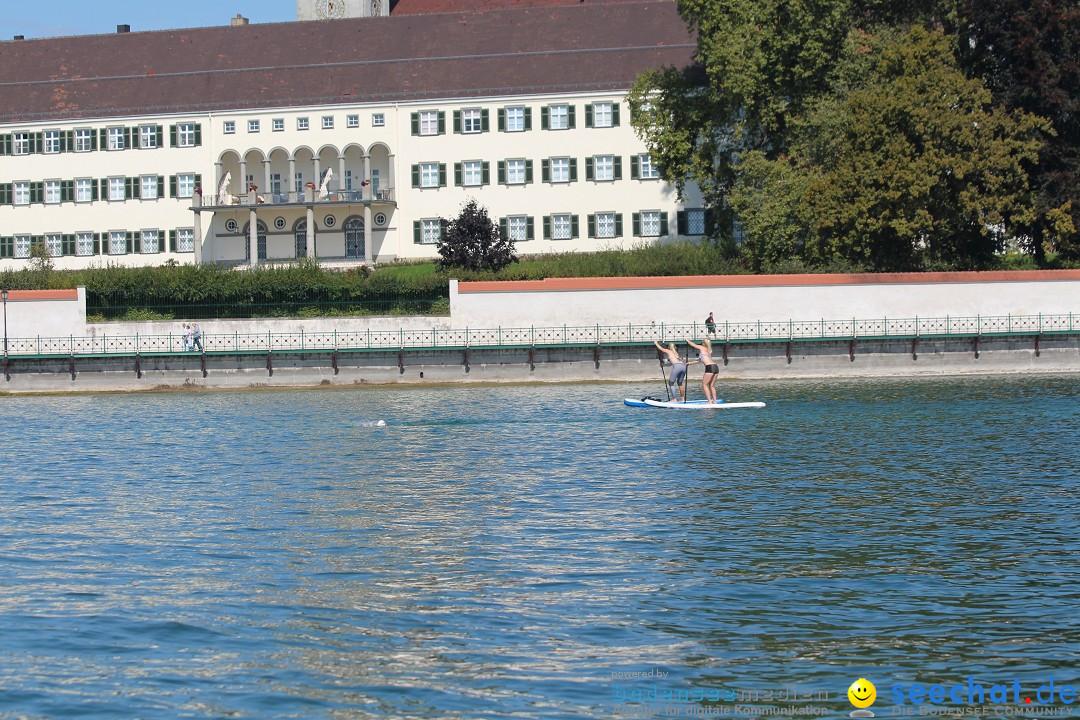 Bodensee Breitenquerung - Peggy Hennings: Friedrichshafen, 12.09.2015