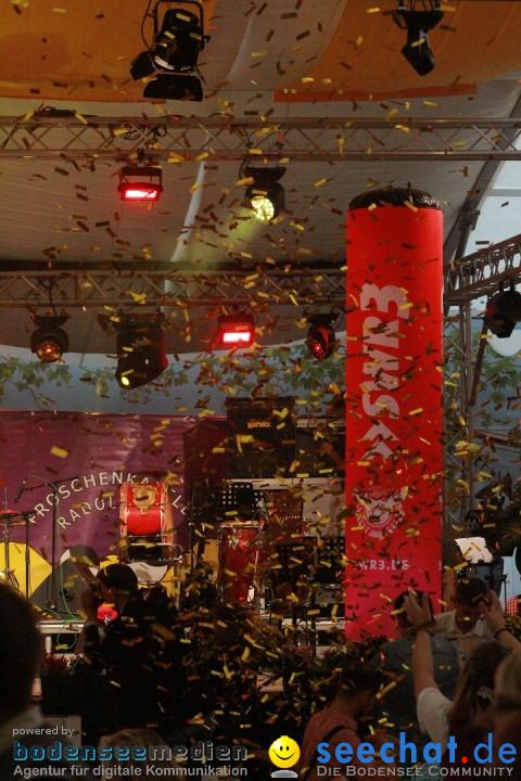 Oktoberfest am Bodensee mit der Froschenkapelle: Konstanz, 18.09.2015