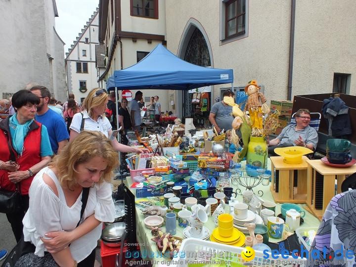 Flohmarkt in Riedlingen am Bodensee, 28.05.2015 - Fotos ...
