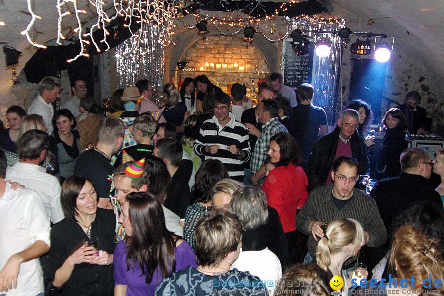 Silvesterparty im Rennstall: Hagnau, 31.12.2009