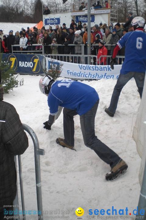 Schneeballschlacht-Weltcup am Bodensee: Langenargen, 09.01.2010