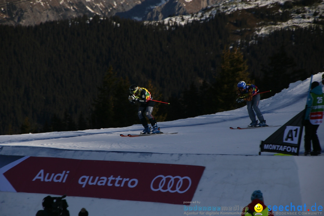 Finale Audi FIS Ski Cross Weltcup, Cross Alps Tour: Montafon, 17.12.2016