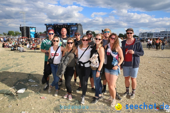 Southside Festival 2017: Neuhausen ob Eck am Bodensee, 25.06.2017
