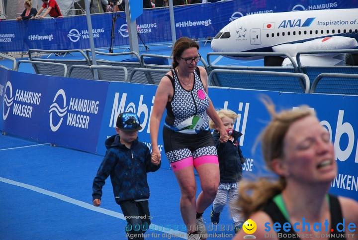 ITU World Triathlon: Hamburg, 15.07.2017