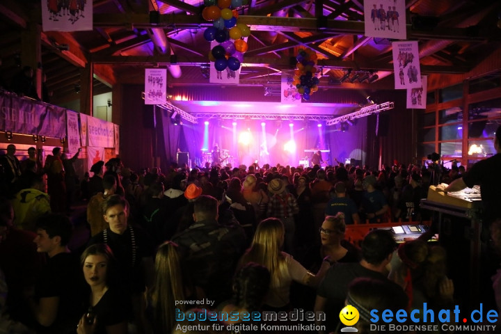 STIERBALL 2018: Party-Band HEAVEN: Wahlwies am Bodensee, 09.02.2018