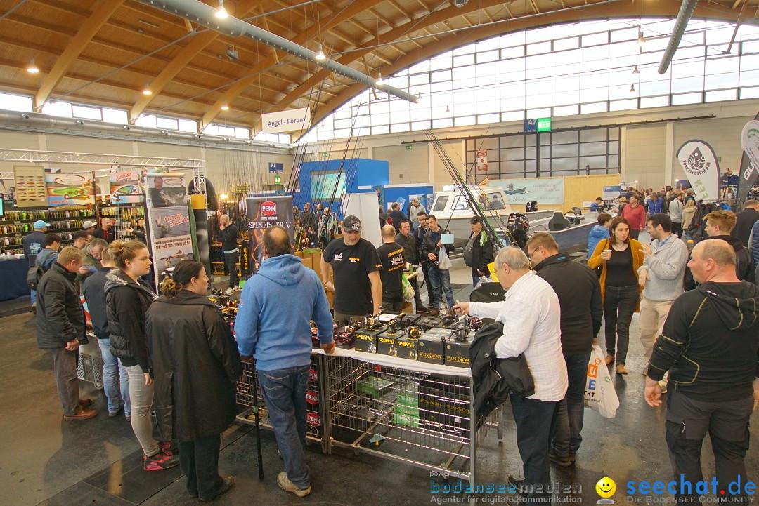 AQUA-FISCH - Internationale Aquaristik-Messe: Friedrichshafen, 11.03.2018