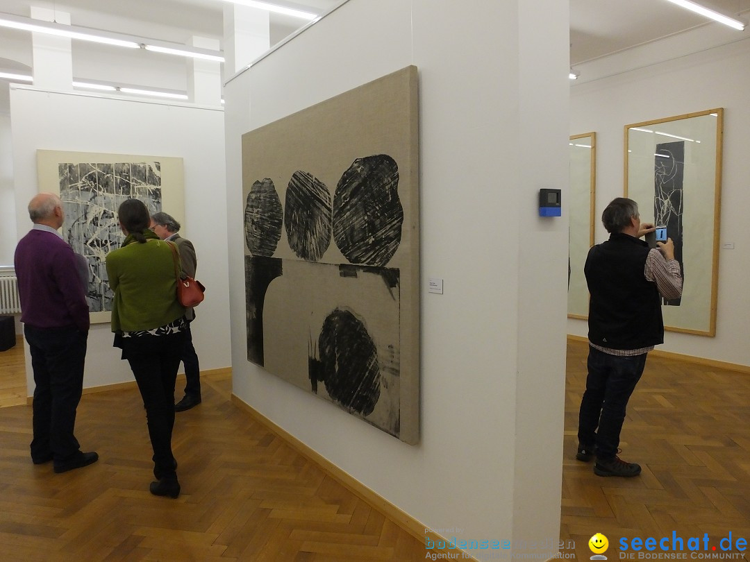 Vernissage: Peter Guth: Messkirch, 11.03.2018