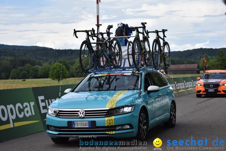 Tour de Suisse 2018: Frauenfeld - Schweiz, 10.06.2018