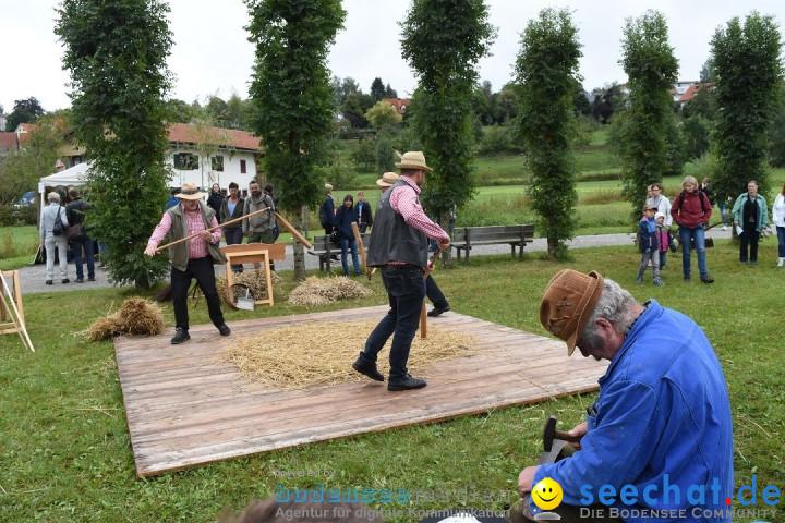 40 Jahre Bauernhausmuseum: Wolfegg - Allgaeu, 02.09.2018