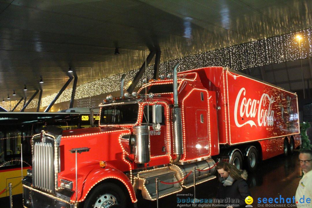 XMAS Coca-Cola Weihnachtstruck: Zuerich, 16.12.2018