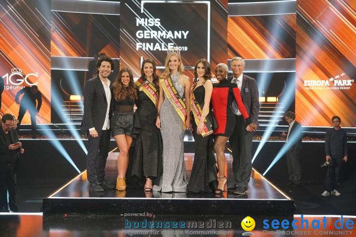 Miss Germany Wahl 2019: Nadine Berneis - Europa-Park: Rust, 23.02.2019
