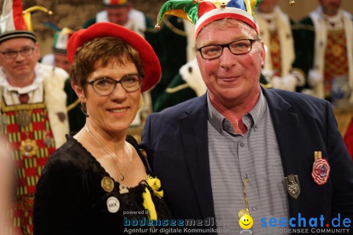 Narrengericht: Annegret Kramp-Karrenbauer - CDU: Stockach, 28.02.2019