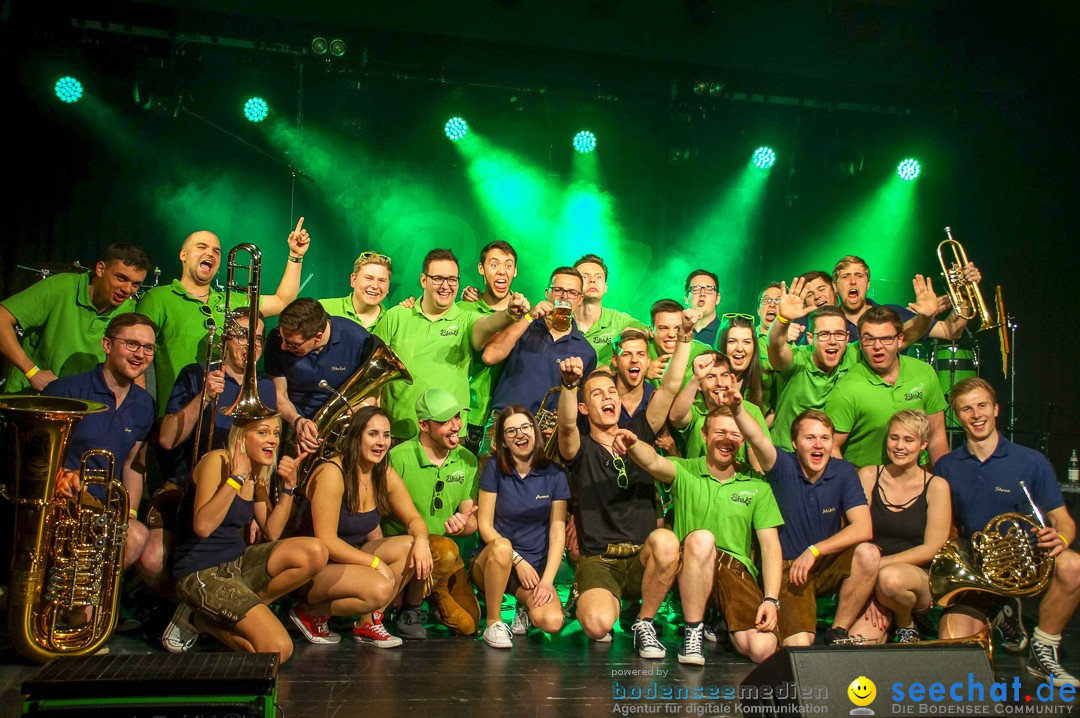 Blaska Party-Power-Blasmusik: Saison Opening: Rielasingen, 6.4.2019