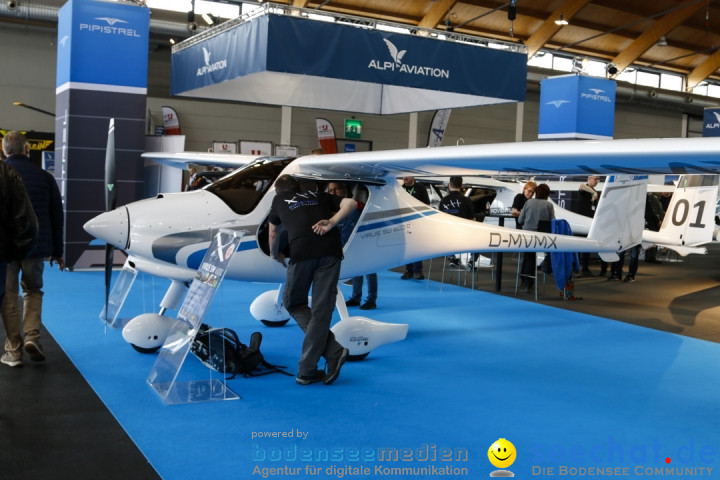 AERO - EXPO for General Aviation: Friedrichshafen am Bodensee, 13.04.2019