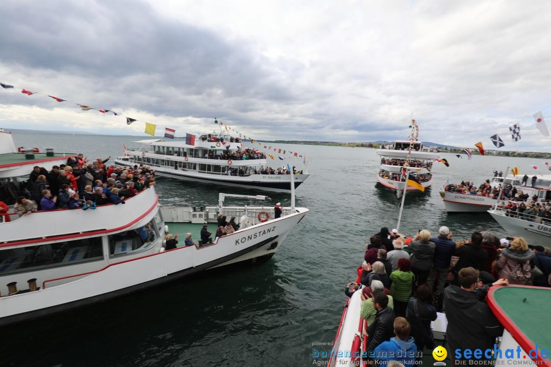 48. Internationale Flottensternfahrt: Bodensee - Friedrichshafen, 27.04.201