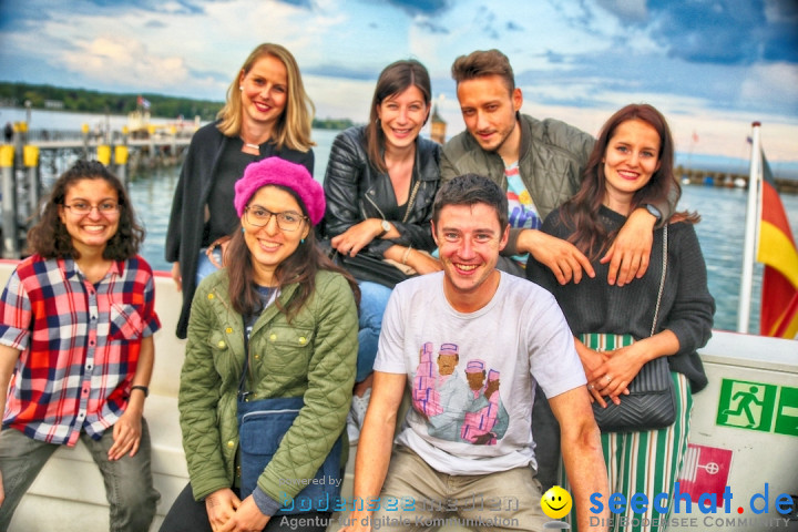 Lake Off Music Boat Festival: Konstanz-Meersburg am Bodensee, 18.05.2019