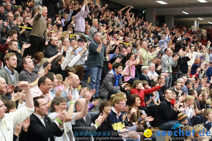 Basketball Bundesliga: ULM - BREMERHAVEN: Ulm, 27.02.2010