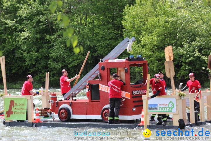 Mammut Flossrennen: Degenau, 19.05.2019