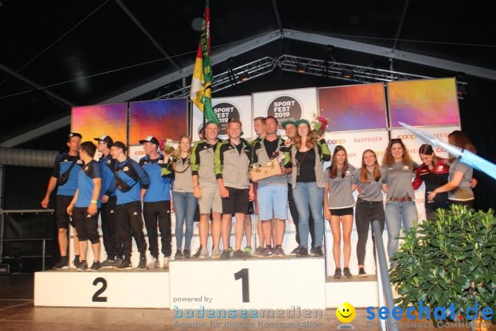 Sportfest: Haeggenschwil, 09.06.2019