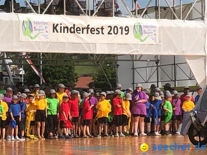 Kinderfest 2019: Herisau, 18.06.2019