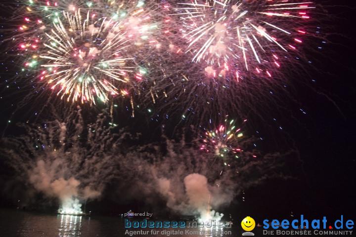 Seenachtsfest mit Feuerwerk: Arbon am Bodensee, 06.07.2019