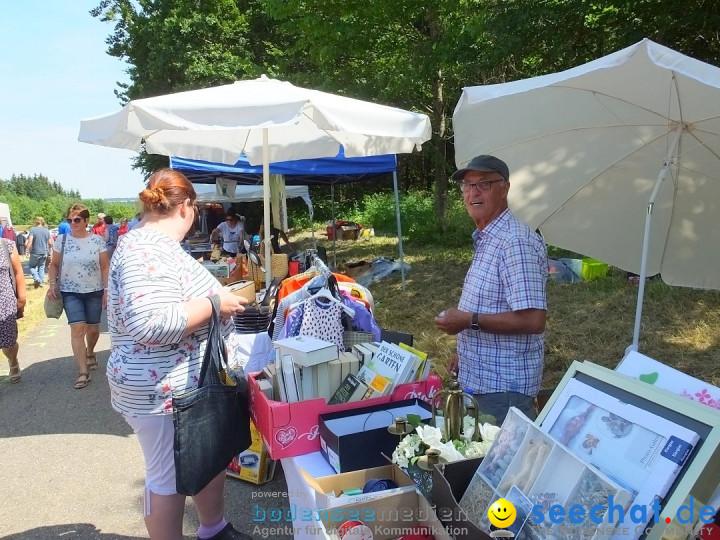 Waldflohmarkt: Mengen-Rosna, 07.07.2019