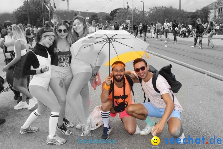 Streetparade 2019 - Colours Of Unity: Zuerich, 10.08.2019