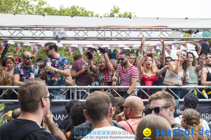 Streetparade 2019 - Colours Of Unity: Zuerich, 10.08.2019
