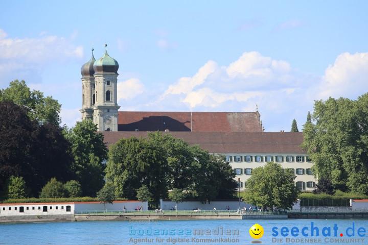 BODENSEEBOOT - Bodenseequerung: Stefan Koske: Friedrichshafen, 14.08.2019