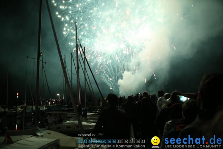 Haefler Seefest mit Feuerwerk: Ludwigshafen am Bodensee, 17.08.2019