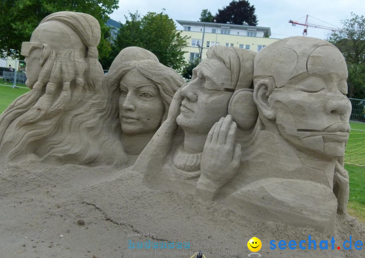Sandskulpturenfestival: Rorschach am Bodensee, 18.08.2019