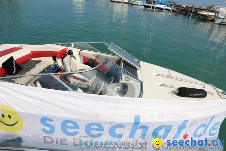 BODENSEEBOOT - Bodenseedurchquerung: Team Satoshi: Romanshorn, 25.08.2019