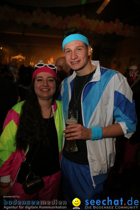 BaefiBall 80er Motto mit FLY Partymusic: Fischbach am Bodensee, 18.01.2020