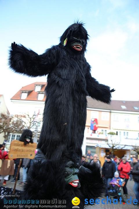 Grosser Narrensprung: Langenargen am Bodensee, 19.01.2020