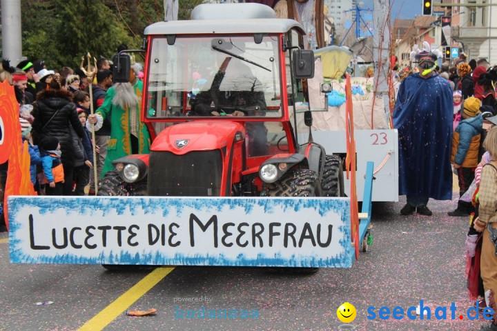 Fasnachtsumzug am Vierwaldstaettersee: Kriens, 25.02.2020
