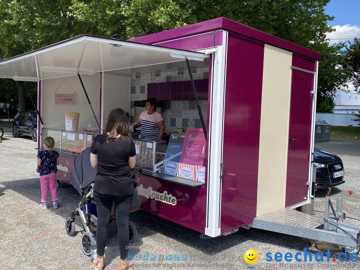 Welfenfest in Zeiten der Corona-Virus Pandemie: Weingarten, 12.07.2020