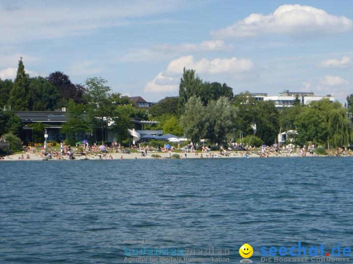 BODENSEEBOOT.DE 2fache SeeQuerung- Cyril Spuler: Romanshorn 19.07.2020