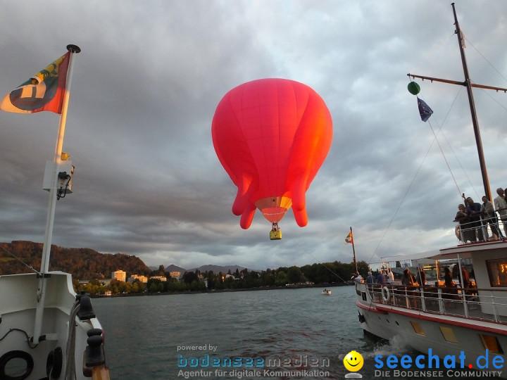 BREGENZER LUFTSPIELE: Jungfernfahrt am Bodensee: Euter-Luftschiff, 23.08.20