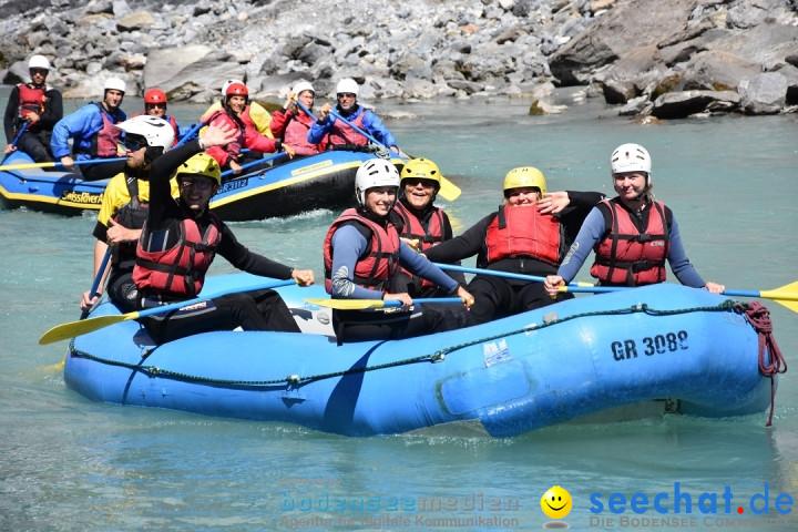 River Rafting: Ilanz-Reichenau - Schweiz, 21.08.2020