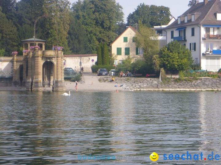 BODENSEEBOOT.DE - Begleitfahrt: Isabella und Thorsten: Friedrichshafen, 27.