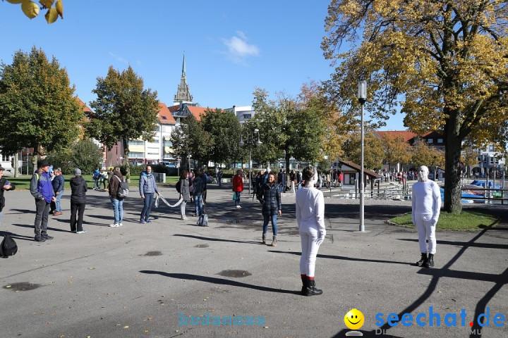 Friedenskette zum 30. Jahrestag der deutschen Einheit: Friedrichshafen, 3.1