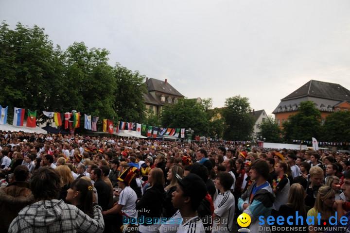 WM 2010 Public Viewing: Deutschland vs Australien (4:0) mit Band Face-of-Vi
